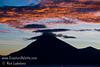 Guatemala Mission Trip - Day 4 - Monday, November 12, 2007<br /> Sunset over Lake Atitlan from Panajachel, Guatemala.  San Pedro Volcano.