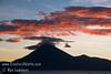 Guatemala Mission Trip - Day 4 - Monday, November 12, 2007<br /> Sunset over Lake Atitlan from Panajachel, Guatemala.  San Pedro Volcano.