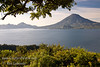 Guatemala Mission Trip - Day 4 - Monday, November 12, 2007<br /> We stopped at a lookout above Panajachel to view Lake Atitlan and surrounding volcanoes.  Toliman Volcano in center, Atitlan Volcano behine it.