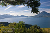 Guatemala Mission Trip - Day 4 - Monday, November 12, 2007<br /> We stopped at a lookout above Panajachel to view Lake Atitlan and surrounding volcanoes.  Toliman Volcano on right.