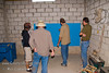 Guatemala Mission Trip - Day 4 - Monday, November 12, 2007<br /> The water system backboard is mounted on the wall.