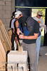 Guatemala Mission Trip - Day 4 - Monday, November 12, 2007<br /> Drilling the lumber - is that Bruce really reading the instructions?
