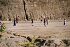 Guatemala Mission Trip - Day 4 - Monday, November 12, 2007<br /> Local children playing soccer of the filed across the creek.