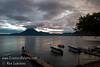 Guatemala Mission Trip - Day 5 -  Tuesday, November 13, 2007<br /> Sunset over Lake Atitlan from Panajachel, Guatemala.   San Pedro Volcano at far shore.