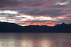 Guatemala Mission Trip - Day 5 -  Tuesday, November 13, 2007<br /> Sunset over city of San Pedro on Lake Atitlan from Panajachel, Guatemala.