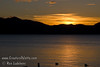 Guatemala Mission Trip - Day 6 - Wednesday, November 14, 2007<br /> Sunset over Lake Atitlan from Panajachel, Guatemala.   Sunset is just above city of San Pedro.
