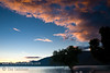 Guatemala Mission Trip - Day 6 - Wednesday, November 14, 2007<br /> Cloud photo from sunset over Lake Atitlan from Panajachel, Guatemala.