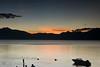 Guatemala Mission Trip - Day 6 - Wednesday, November 14, 2007<br /> Sunset over Lake Atitlan from Panajachel, Guatemala.