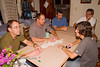 """Guatemala Mission Trip - Day 6 - Wednesday, November 14, 2007<br /> Favorite evening past time - playing Dominoes (""""Train"""")"""