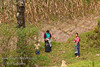 Guatemala Mission Trip - Day 6 - Wednesday, November 14, 2007<br /> Mothers watching their children at play at the new playground.