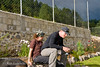 Guatemala Mission Trip - Day 6 - Wednesday, November 14, 2007<br /> The gardening project is complete.   Tanner found a comfortable place to sit.