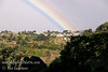 Guatemala Mission Trip - Day 7 - Thursday, November 15, 2007<br /> Another rainbow was visible above the hills over Solola on our way to the camp.