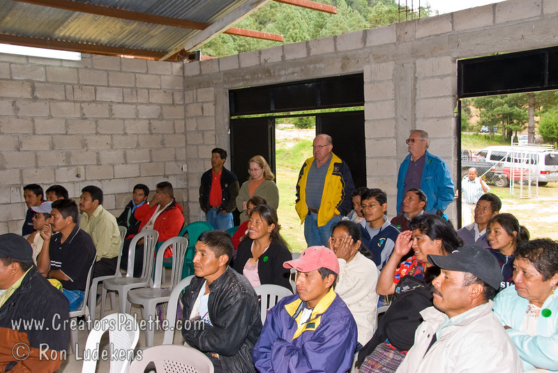 Guatemala Mission Trip - Day 7 - Thursday, November 15, 2007.  Dedication Day.<br /> Ceremony where we all drank and enjoyed the clean water.