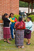 Guatemala Mission Trip - Day 7 - Thursday, November 15, 2007.  Dedication Day. <br /> Pastors wives waiting for beginning of dedication.
