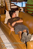 Guatemala Mission Trip - Day 7 - Thursday, November 15, 2007 <br /> A familiar pose for Jordan when he wasn't working.