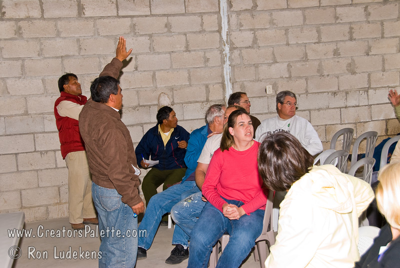 Guatemala Mission Trip - Day 7 - Thursday, November 15, 2007.  Dedication Day.  <br /> Welcoming to the pastors and other traveling from area churches.