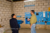 Guatemala Mission Trip - Day 7 - Thursday, November 15, 2007.  Dedication Day.  <br /> Johnny explaining the system to a late arrival.
