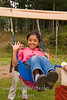 Guatemala Mission Trip - Day 7 - Thursday, November 15, 2007.  Dedication Day.<br /> Having fun on the swings.