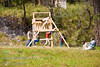 Guatemala Mission Trip - Day 7 - Thursday, November 15, 2007.  Dedication Day. <br /> Family watching children at play.