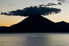 Guatemala Mission Trip - Day 7 - Thursday, November 15, 2007<br /> Sunset over Lake Atitlan from Panajachel, Guatemala.