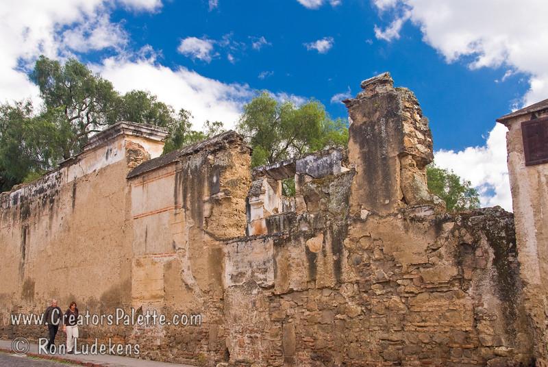 Guatemala Mission Trip - Day 8 - Friday, November 16, 2007<br /> Ruins of Church and Convent of Santa Clara - Templo y Convento Santa Clara