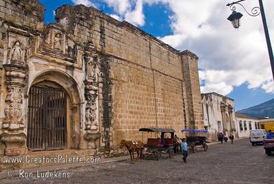 Guatemala Mission Trip - Day 8 - Friday, November 16, 2007 Ruins of Church and Convent of Santa Clara - Templo y Convento Santa Clara