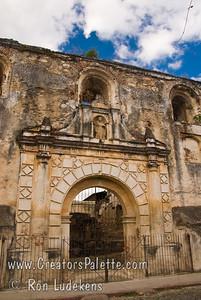 Guatemala Mission Trip - Day 8 - Friday, November 16, 2007  Ruins of Church of San Agustin in Antigua Guatemala.