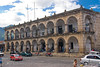 Guatemala Mission Trip - Day 8 - Friday, November 16, 2007<br /> Palacio del Noble Ayuntamiento which includes the City Hall and Weapons Museum (El Museo de Santiago) and Museum of Old Books (El Museo del Libro Antiguo).  North of Central Park next to the Cathedral.  Antigua Guatemala.