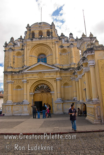 Guatemala Mission Trip - Day 8 - Friday, November 16, 2007 <br /> Templo y Hospital de San Pedro Apóstol in Antigua, Guatemala
