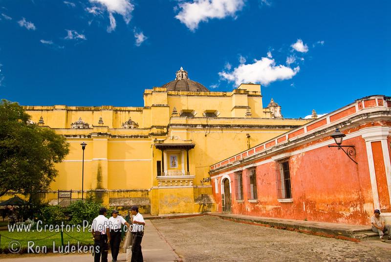Guatemala Mission Trip - Day 8 - Friday, November 16, 2007<br /> Church of La Merced - Templo y Convento La Merced in Antigua Guatemala.