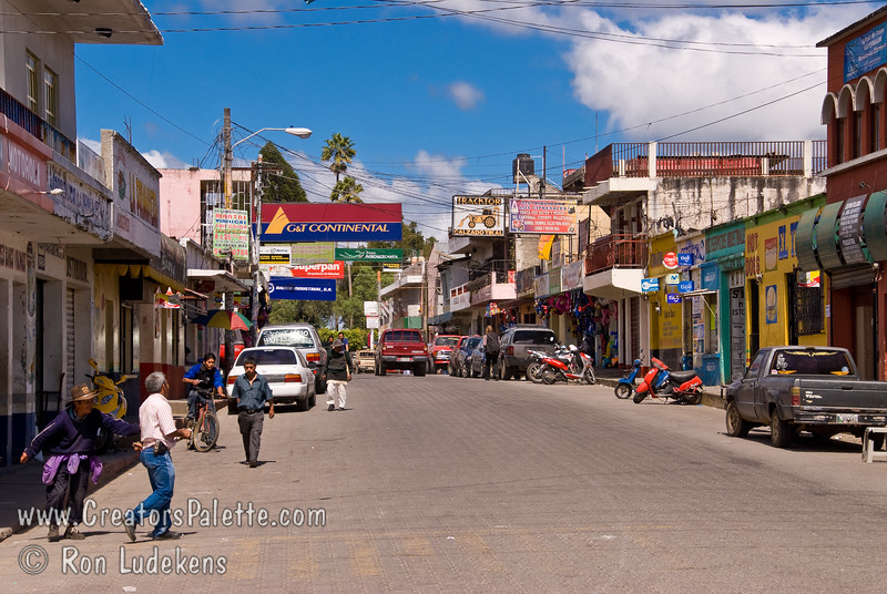 Guatemala Mission Trip - Day 8 - Friday, November 16, 2007   <br /> Sides street along the road in Chimaltenango.