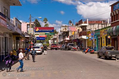 Guatemala Mission Trip - Day 8 - Friday, November 16, 2007    Sides street along the road in Chimaltenango.