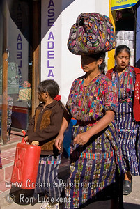 Guatemala Mission Trip - Day 8 - Friday, November 16, 2007    Guatemalan women wearing traditional clothing.