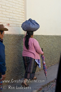 Guatemala Mission Trip - Day 8 - Friday, November 16, 2007  Guatemalan woman wearing traditional clothing.