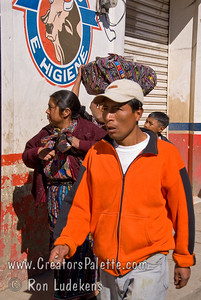 Guatemala Mission Trip - Day 8 - Friday, November 16, 2007    Most men wore western clothes instead of the traditional garb.