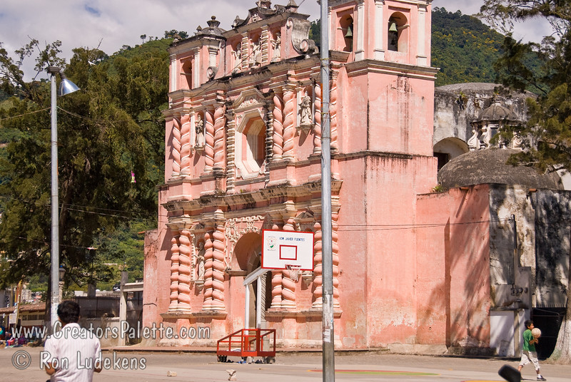 Guatemala Mission Trip - Day 8 - Friday, November 16, 2007 <br /> A church we passed along the road towards Antigua Guatemala.