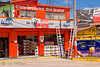 Guatemala Mission Trip - Day 8 - Friday, November 16, 2007   <br /> Along the road in Chimaltenango - paint store.