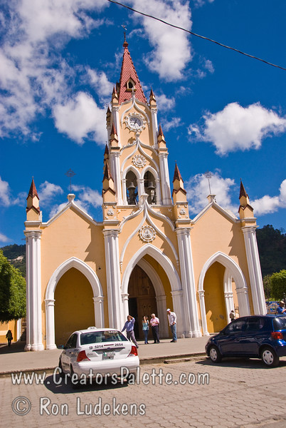 Guatemala Mission Trip - Day 8 - Friday, November 16, 2007   <br /> A church we passed upon entering Antigua Guatemala.