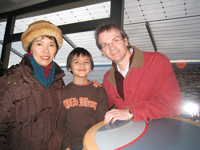 November - visiting the Space Needle, Seattle - Observation Deck