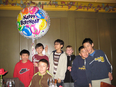 February - John's 11th Birthday Party