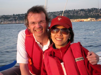 August - Sailing in Elliot Bay, Seattle