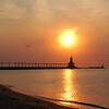 Michigan City Pier<br /> Michigan City, Indiana
