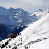 Swiss Alps above Grindlwald, Switzerland<br /> March, 2007