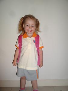 Isla's sports uniform