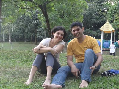 Upasna and Vikram