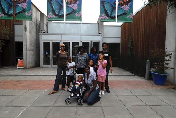 Destiny Kids at Museum