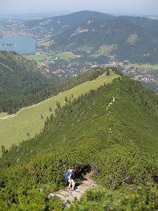 Route from Brecherspitz to Schliersee