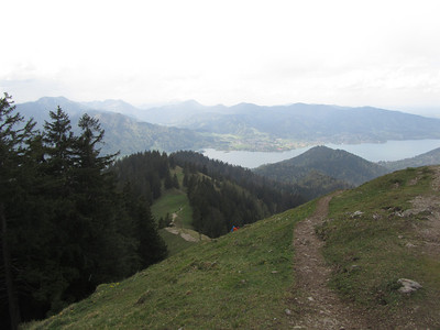 On the way from Tegernsee to Baumgartenschneid