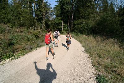 Wandern von Prunn nach Keltenburg