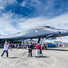 B1b Supersonic Bomber on Display